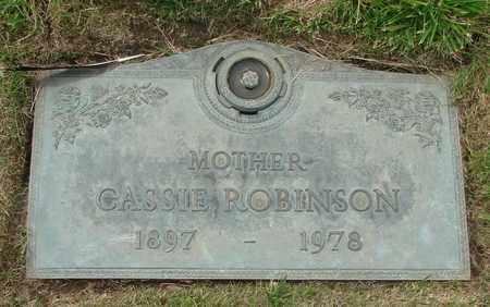 ROBINSON, CASSIE IDA - Polk County, Oregon   CASSIE IDA ROBINSON - Oregon Gravestone Photos