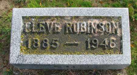 ROBINSON, CLEVE - Polk County, Oregon | CLEVE ROBINSON - Oregon Gravestone Photos