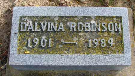 ROBINSON, DALVINA - Polk County, Oregon   DALVINA ROBINSON - Oregon Gravestone Photos