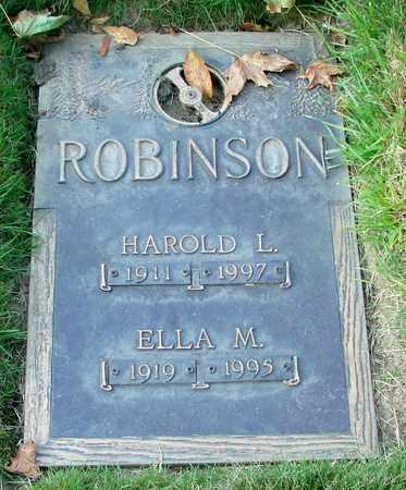 ROBINSON, ELLA M - Polk County, Oregon | ELLA M ROBINSON - Oregon Gravestone Photos