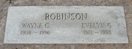 ROBINSON, WAYNE CAROL - Polk County, Oregon | WAYNE CAROL ROBINSON - Oregon Gravestone Photos