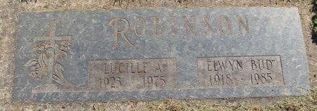ROBINSON, ELWYN - Polk County, Oregon | ELWYN ROBINSON - Oregon Gravestone Photos