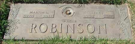 ROBINSON, FAY L - Polk County, Oregon | FAY L ROBINSON - Oregon Gravestone Photos