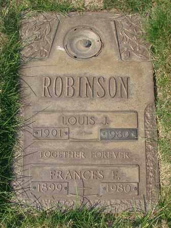 ROBINSON, LOUIS J - Polk County, Oregon | LOUIS J ROBINSON - Oregon Gravestone Photos