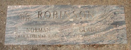 ROBINSON, NORMAN - Polk County, Oregon | NORMAN ROBINSON - Oregon Gravestone Photos