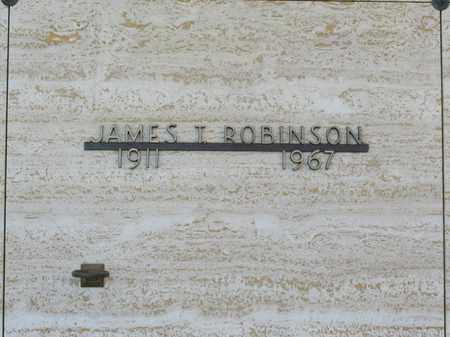 ROBINSON, JAMES T - Polk County, Oregon | JAMES T ROBINSON - Oregon Gravestone Photos