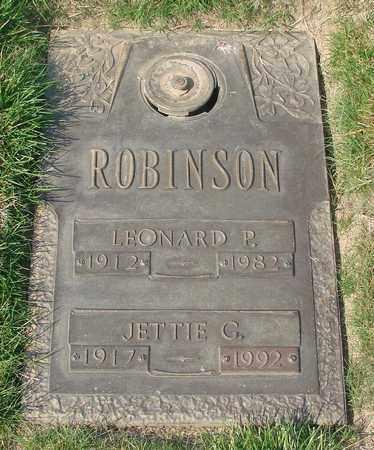 ROBINSON, JETTIE GLADYS - Polk County, Oregon | JETTIE GLADYS ROBINSON - Oregon Gravestone Photos