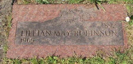 ROBINSON, LILLIAN MAY - Polk County, Oregon   LILLIAN MAY ROBINSON - Oregon Gravestone Photos