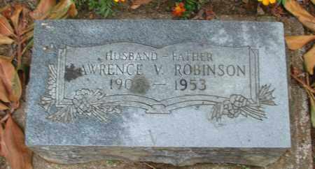 ROBINSON, LAWRENCE VERNON - Polk County, Oregon   LAWRENCE VERNON ROBINSON - Oregon Gravestone Photos