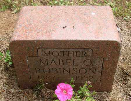 ROBINSON, MABEL O - Polk County, Oregon | MABEL O ROBINSON - Oregon Gravestone Photos
