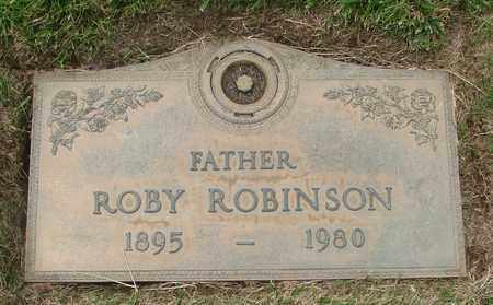 ROBINSON, ROBY - Polk County, Oregon | ROBY ROBINSON - Oregon Gravestone Photos