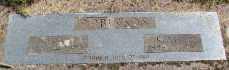 ROBINSON, VERA E - Polk County, Oregon | VERA E ROBINSON - Oregon Gravestone Photos
