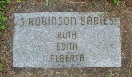 ROBINSON, ALBERTA - Polk County, Oregon | ALBERTA ROBINSON - Oregon Gravestone Photos