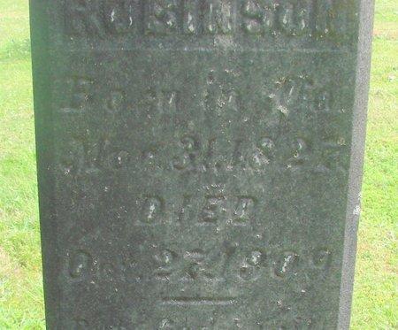 ROBINSON, S M - Polk County, Oregon   S M ROBINSON - Oregon Gravestone Photos