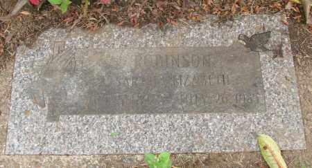 ROBINSON, SARAH ELIZABETH - Polk County, Oregon | SARAH ELIZABETH ROBINSON - Oregon Gravestone Photos