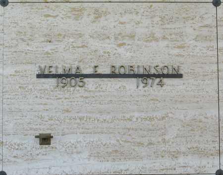 ROBINSON, VELMA E - Polk County, Oregon   VELMA E ROBINSON - Oregon Gravestone Photos