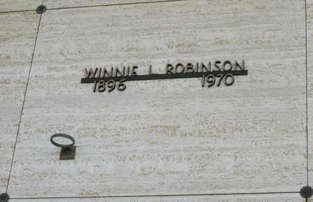 ROBINSON, WINNIE L - Polk County, Oregon | WINNIE L ROBINSON - Oregon Gravestone Photos