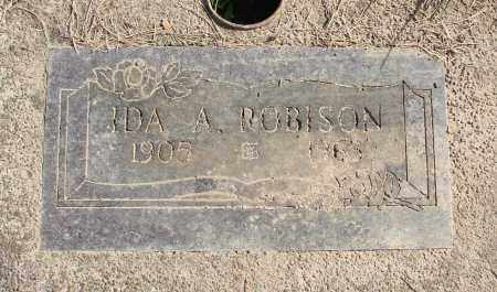 ROBISON, IDA A - Polk County, Oregon | IDA A ROBISON - Oregon Gravestone Photos