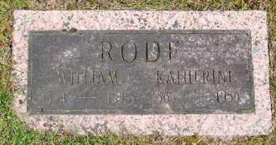 RODE, KATHERINE - Polk County, Oregon | KATHERINE RODE - Oregon Gravestone Photos