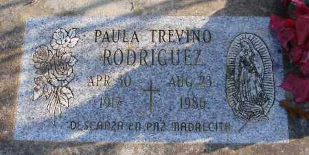 TREVINO RODRIGUEZ, PAULA - Polk County, Oregon | PAULA TREVINO RODRIGUEZ - Oregon Gravestone Photos
