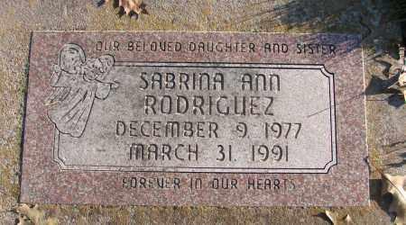 RODRIGUEZ, SABRINA ANN - Polk County, Oregon   SABRINA ANN RODRIGUEZ - Oregon Gravestone Photos