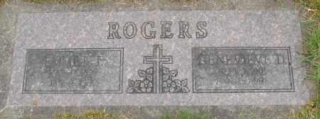 ROGERS, GENEVIEVE D - Polk County, Oregon | GENEVIEVE D ROGERS - Oregon Gravestone Photos