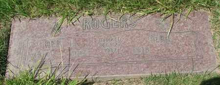 ROGERS, FERN - Polk County, Oregon | FERN ROGERS - Oregon Gravestone Photos