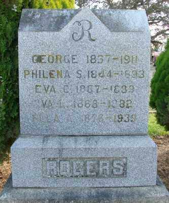 ROGERS, EVA C - Polk County, Oregon | EVA C ROGERS - Oregon Gravestone Photos