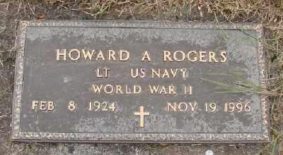 ROGERS (WWII), HOWARD A - Polk County, Oregon | HOWARD A ROGERS (WWII) - Oregon Gravestone Photos