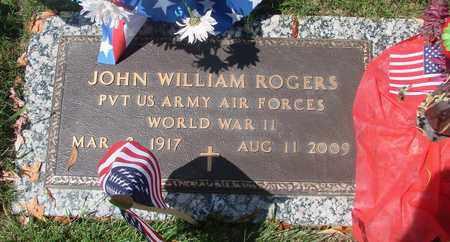 ROGERS, JOHN WILLIAM - Polk County, Oregon | JOHN WILLIAM ROGERS - Oregon Gravestone Photos