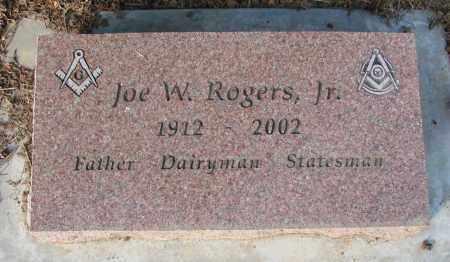 ROGERS, JOE W - Polk County, Oregon | JOE W ROGERS - Oregon Gravestone Photos