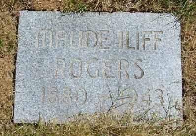 ILIFF, MAUDE - Polk County, Oregon | MAUDE ILIFF - Oregon Gravestone Photos