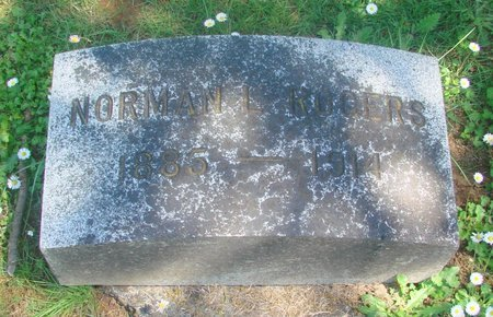 ROGERS, NORMAN LEONARD - Polk County, Oregon   NORMAN LEONARD ROGERS - Oregon Gravestone Photos