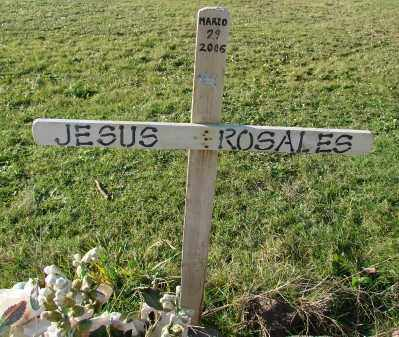 ROSALES, JESUS - Polk County, Oregon   JESUS ROSALES - Oregon Gravestone Photos