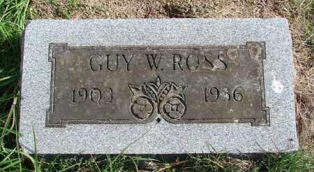 ROSS, GUY W - Polk County, Oregon | GUY W ROSS - Oregon Gravestone Photos