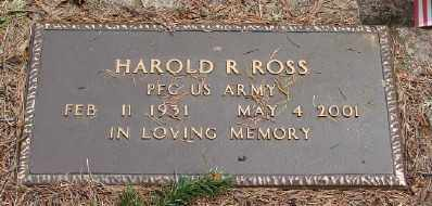 ROSS (SERV), HAROLD R - Polk County, Oregon | HAROLD R ROSS (SERV) - Oregon Gravestone Photos