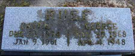 RUEF, GEORGE - Polk County, Oregon | GEORGE RUEF - Oregon Gravestone Photos