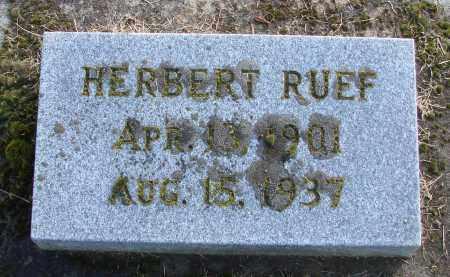 RUEF, HERBERT - Polk County, Oregon | HERBERT RUEF - Oregon Gravestone Photos
