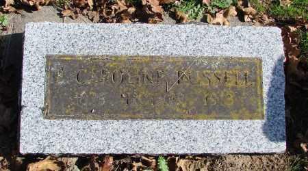 RUSSELL, CAROLINE - Polk County, Oregon | CAROLINE RUSSELL - Oregon Gravestone Photos