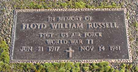 RUSSELL, FLOYD WILLIAM - Polk County, Oregon   FLOYD WILLIAM RUSSELL - Oregon Gravestone Photos