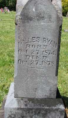 RYAN, WILLIS - Polk County, Oregon | WILLIS RYAN - Oregon Gravestone Photos