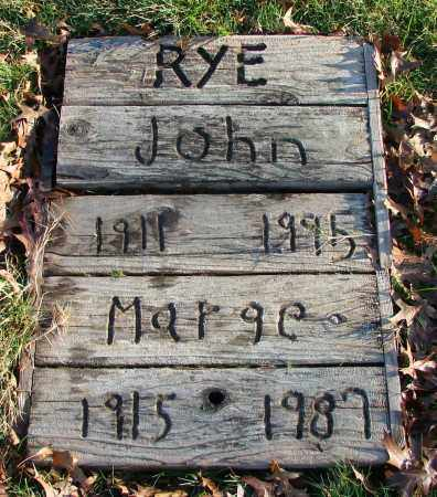 RYE, JOHN - Polk County, Oregon | JOHN RYE - Oregon Gravestone Photos