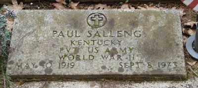 SALLENG (WWII), PAUL - Polk County, Oregon   PAUL SALLENG (WWII) - Oregon Gravestone Photos