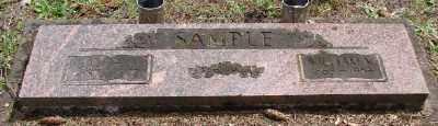 SAMPLE, LAURA M - Polk County, Oregon | LAURA M SAMPLE - Oregon Gravestone Photos