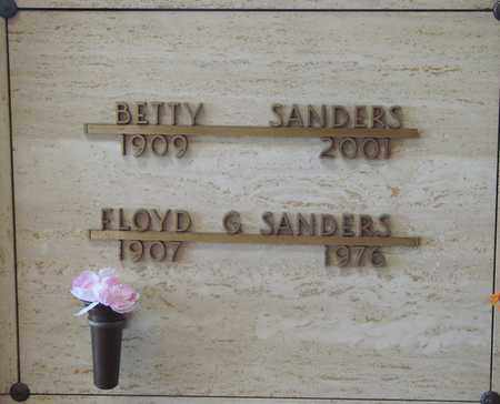 SANDERS, BETTY - Polk County, Oregon | BETTY SANDERS - Oregon Gravestone Photos
