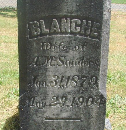 SANDERS, BLANCHE - Polk County, Oregon | BLANCHE SANDERS - Oregon Gravestone Photos