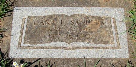 SANDERS, DANA FREEDOM - Polk County, Oregon   DANA FREEDOM SANDERS - Oregon Gravestone Photos