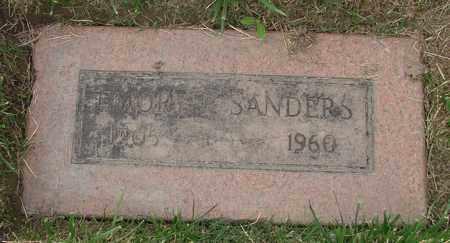 SANDERS, EMORY P - Polk County, Oregon | EMORY P SANDERS - Oregon Gravestone Photos