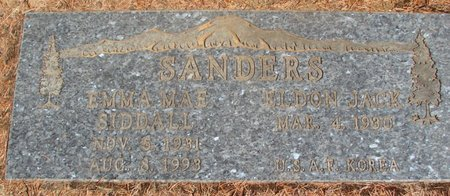 SANDERS, EMMA MAE - Polk County, Oregon | EMMA MAE SANDERS - Oregon Gravestone Photos