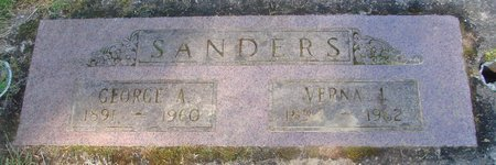 SANDERS, GEORGE A - Polk County, Oregon | GEORGE A SANDERS - Oregon Gravestone Photos